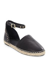 Kenneth Cole Blaire Leather Flats Black