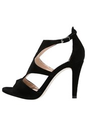 Unisa Walker High Heeled Sandals Black