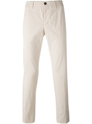 Lardini Chino Trousers Nude And Neutrals