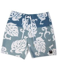Rusty Milan Printed Board Shorts