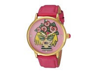 Betsey Johnson Bj00496 53 Emoji Face Gold Watches