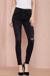 Citizens Of Humanity Rocket High Rise Skinny Jean Black