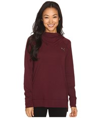 Puma High Life Hoodie Winetasting Women's Sweatshirt Burgundy