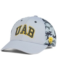 Top Of The World Alabama Birmingham Blazers Stretch Fit Cap Gray