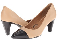 Sofft Tansy Oatmeal Black Velvet Sheep Nappa River Kid Women's 1 2 Inch Heel Shoes