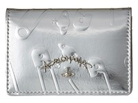 Vivienne Westwood Safety Pin Travel Wallet Silver Wallet Handbags