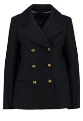 Banana Republic Melton Light Jacket Navy Dark Blue