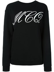 Mcq By Alexander Mcqueen Tattoo Print Sweatshirt Black