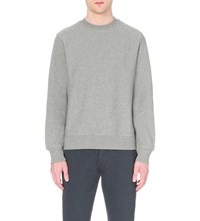 Paul Smith Ps By Crewneck Cotton Jersey Sweatshirt Grey