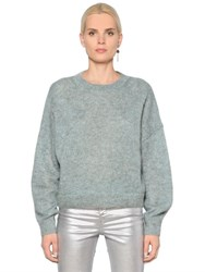 Etoile Isabel Marant Loose Fit Mohair And Wool Knit Sweater