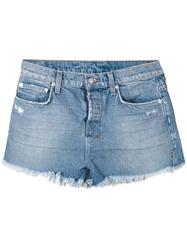 Ksubi Distressed Jeans Shorts