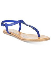 American Rag Krissy Braided Flat Sandals Only At Macy's Women's Shoes Summer Blue