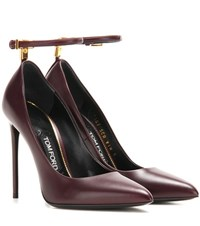 Tom Ford Leather Pumps Red