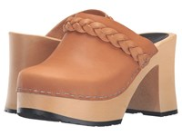 Swedish Hasbeens Laila Nature Women's Clog Shoes Neutral