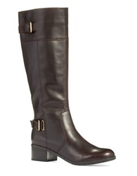 Bandolino Castin Knee High Boots Dark Brown