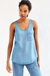 Bdg Chambray Tank Top Vintage Denim Medium