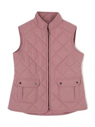 Dash Quilted Gilet Purple