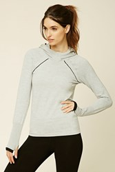 Forever 21 Active Seamless Knit Hoodie