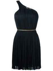 Maria Lucia Hohan Pleated Off Shoulder Dress Black