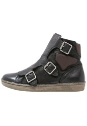 Mjus Curt Boots Nero Cacao Black