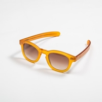 Eye Respect X Oliver Spencer Bob Glasses In Brown Crystal Atoo.Co.Uk