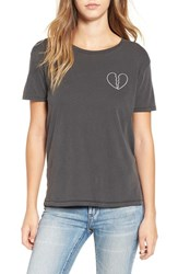 Amuse Society Women's 'Partners In Crime A' Graphic Tee
