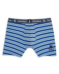 Psycho Bunny Knit Boxer Briefs Blue Multi Stripe