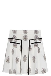 A.L.C. Stacey Skirt Ivory