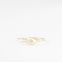 Talon Lulu Opal Ring Gold