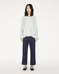 Dosa Cropped Easy Pants Denim