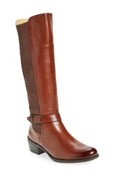 Bussola Women's 'Arad' Riding Boot Rust Leather
