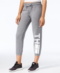 Tommy Hilfiger Logo Graphic Sweatpants Only At Macy's Grey