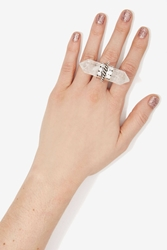 Nasty Gal Rock Solid Crystal Ring