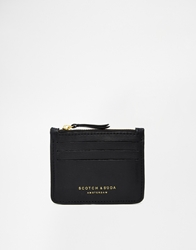 Scotch And Soda Leather Wallet Black