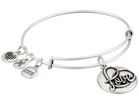 Alex And Ani Love Iii Charm Bangle Rafaelian Silver Bracelet