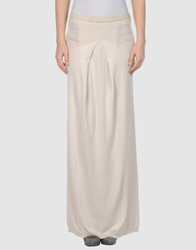 Jucca Long Skirts Beige