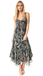 Haute Hippie Martys Girlfriend Dress Paisley Camo