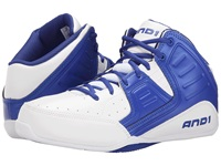 And 1 Rocket 4 White Blue White Men's Basketball Shoes