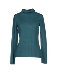 Ballantyne Turtlenecks Emerald Green