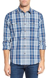 Tailor Vintage Men's Regular Fit Plaid Sport Shirt