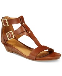 Kenneth Cole Reaction Women's Great Step Wedge Sandals Women's Shoes Toffee