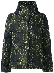Etro Stand Collar Padded Jacket Black