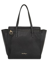 Salvatore Ferragamo Medium Amy Grained Leather Tote Bag