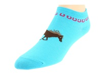 Ariat Spirit No Show Socks Blue Women's No Show Socks Shoes