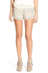 Junior Women's Rip Curl 'Moon River' Shorts Multicolor