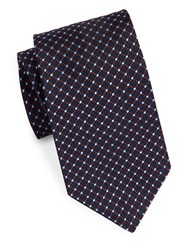 Brooks Brothers Patterned Silk Tie Navy