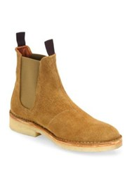 Rag And Bone High Top Suede Boots Tan