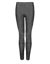 Dex Acid Wash Leggings Grey