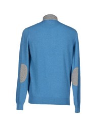 Della Ciana Knitwear Turtlenecks Men Pastel Blue