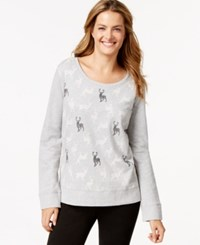 Styleandco. Style And Co. Sport Deer Print Sweatshirt Only At Macy's